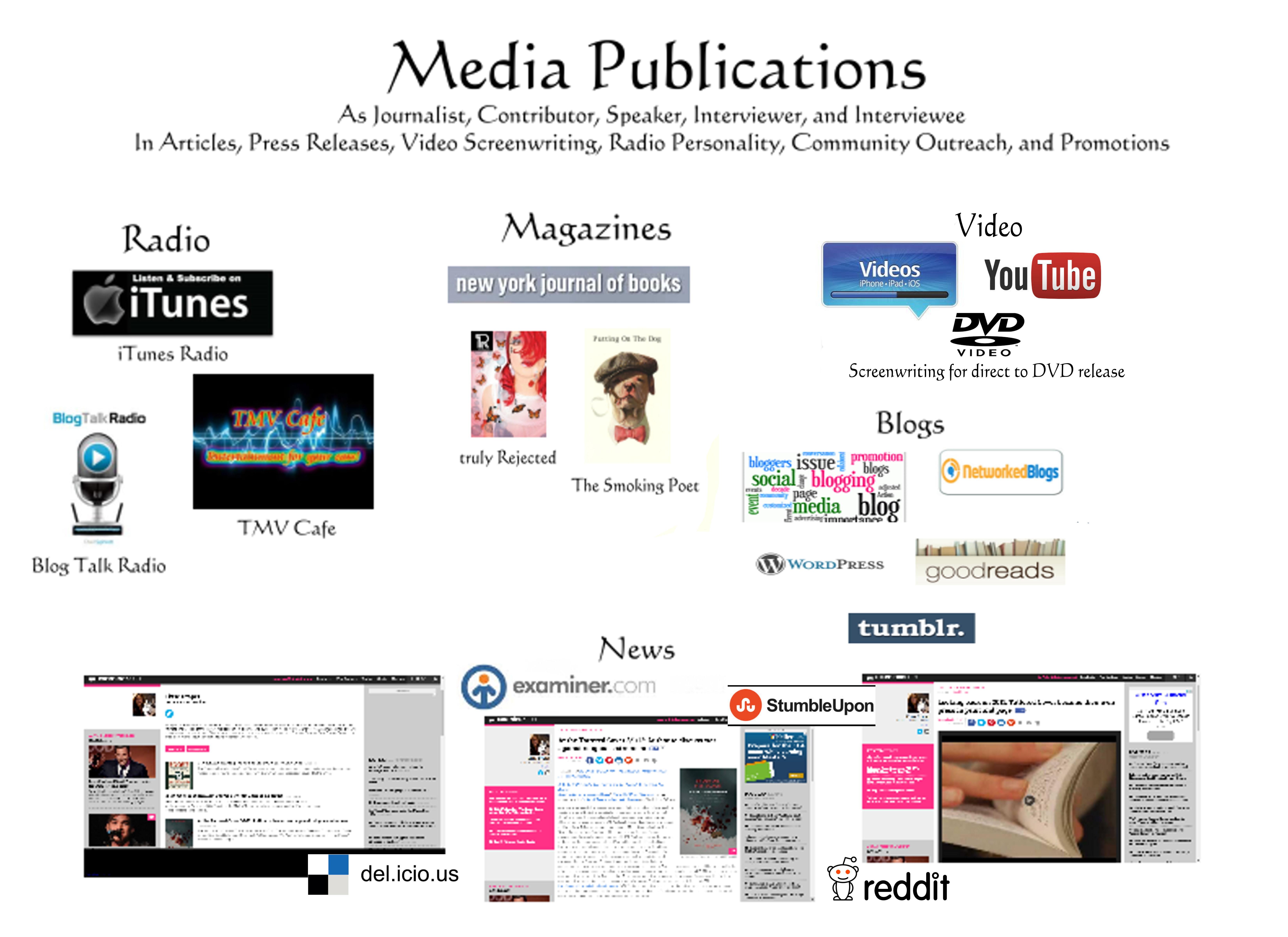 Media Pub portfolio